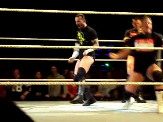 CM Punk and Alex Riley Dancing