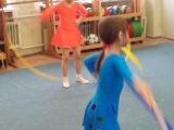 Юные спортсменки 05.04.2013 подготовительная группа